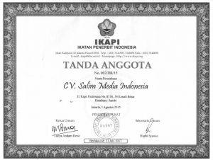 sertifikst SMI
